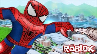 BEING A SUPERHERO IN ROBLOX!