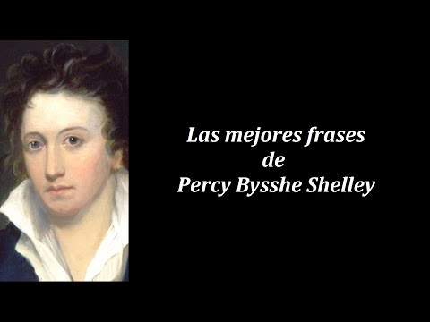 Frases célebres de Percy Bysshe Shelley