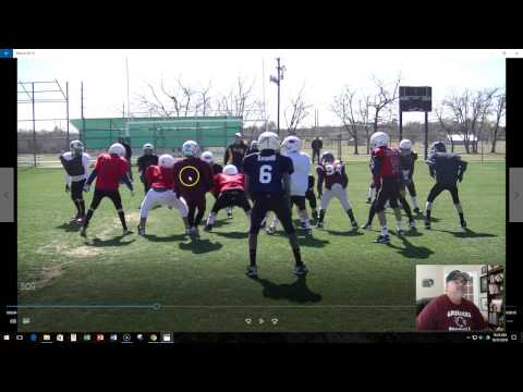 Trig Diamond Youth Football Plays From Power Wing Beast Offense Playbook