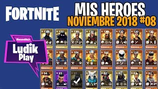 #08 MES HEROES NOVEMBER ? FORTNITE SAUVE LE MONDE Gameplay espagnol
