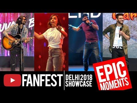 Youtube FanFest Delhi 2018 | Epic Moments of BB Ki Vines, Technical Guruji, CarryMinati & More!