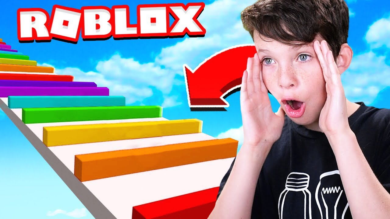 Little Brother Plays First Roblox Obby Youtube