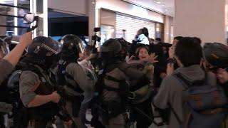 Víspera de Navidad plagada de violencia en protestas en Hong Kong | AFP
