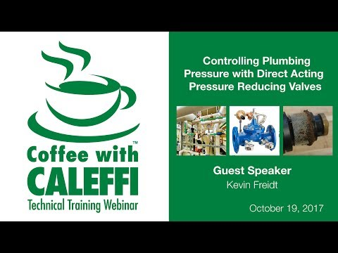 Controlling Plumbing Pressure with Direct Acting Pressure Reducing Valves