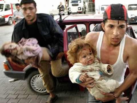 The israeli crimes towards palestinian nation