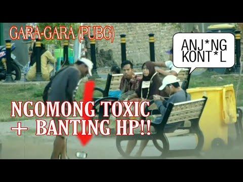 PRANK BANTING HP + TOXIC GARA-GARA GAME (PUBG) AUTO NGAKAK WK