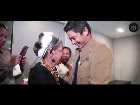 Apo Whang Od meets Coco Martin.
