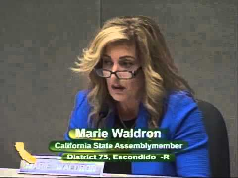 CA State Assemblymember Marie Waldron rips SB277 for eliminating freedom and informed consent.