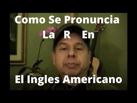 Como Pronunciar La R Americana