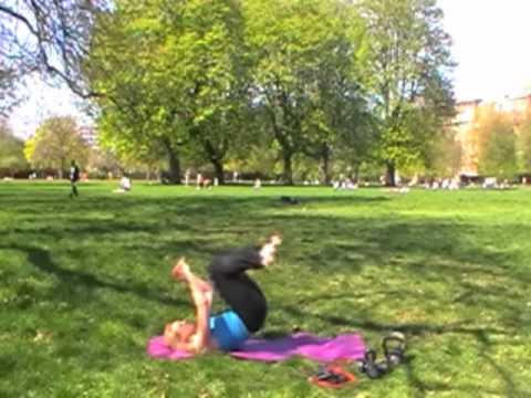 Roll back squat jumps - plyometric, cardio & resis...