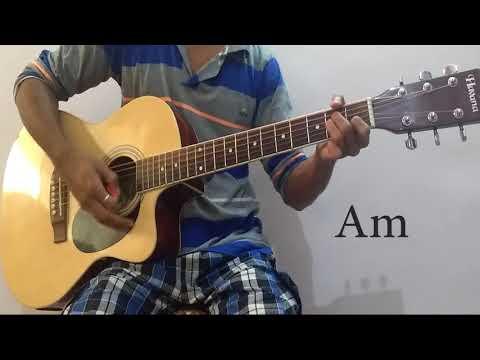 Channa Mereya Open Chords Lesson(Arijit Singh) Strumming Pattern With Progressions