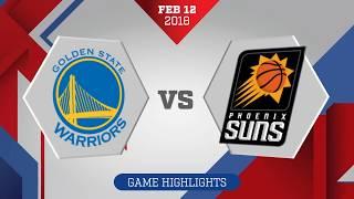 Phoenix Suns vs Golden State Warriors: February 12, 2018