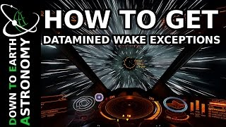 HOW TO FIND DATAMINED WAKE EXCEPTIONS | ELITE DANGEROUS
