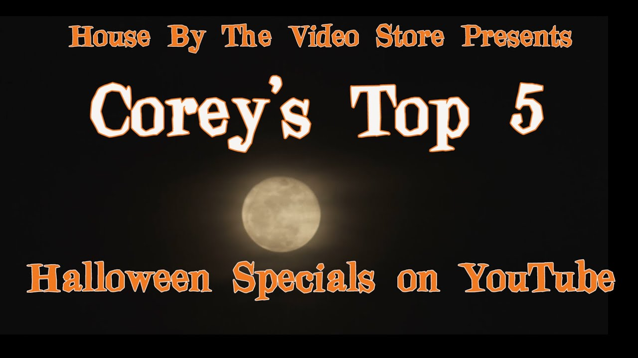 top 5 halloween specials on youtube - youtube
