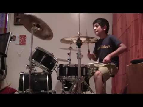 Raghav 6 year old drummer – Houses of the Holy by Led Zeppelin drum cover