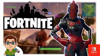 Fortnite on Switch! Why Are The Skins So Cool! Red Knight Hype!
