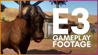 🦁 E3 Gameplay Demo Analysis   Planet Zoo Update