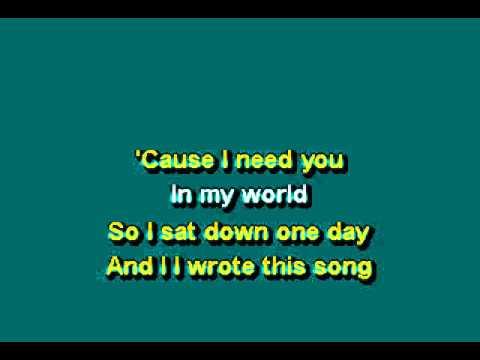 Kem - Share My Life Karaoke