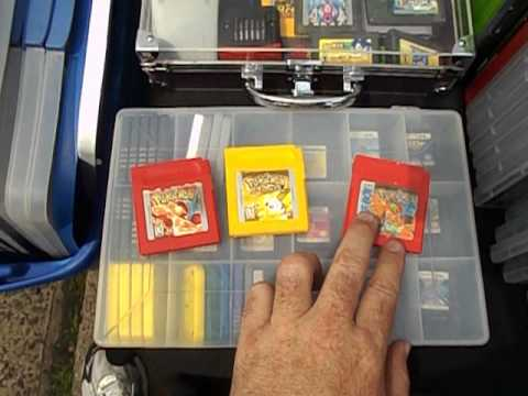 Pokemon Yellow & Red Berkeley Heights Street Fair Gameboy Video Game Pick-IUps - 6/30/13