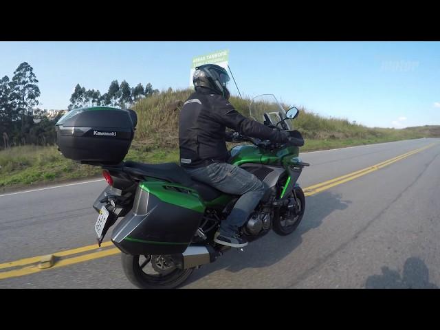 Aceleramos a nova Kawasaki Versys 1000 GT
