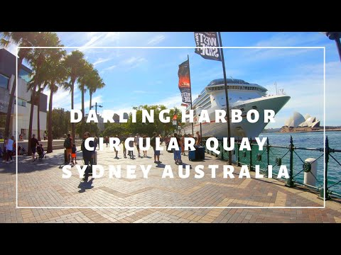 Check Out Darling Harbour And Circular Quay In Sydney Australia 🦘