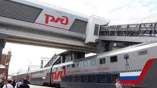 видео Поезд из Казани в Москву