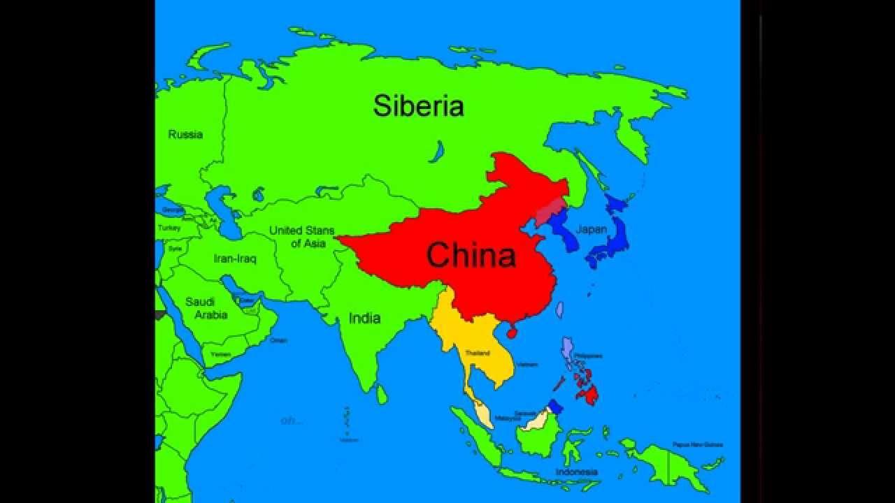 Asia Map Siberia.Future Of Asia Part 1 Siberia Stronk Youtube