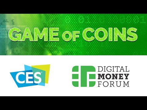 Swarm CEO Philipp Pieper on the Game of Coins panel @ CES 2018