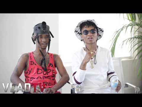 Rae Sremmurd on Nicki Minaj Jumping on No Flex Remix