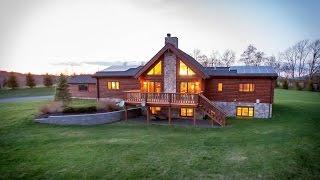 #36371 - Stunning Contemporary Log Home - Belleayre Mountain