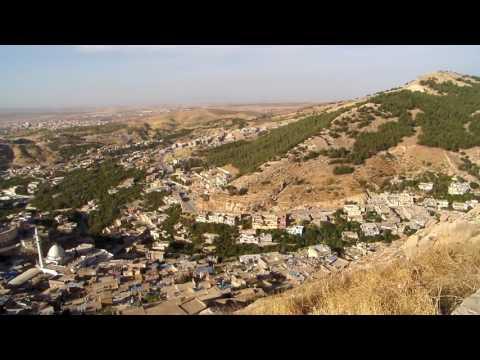 Panoramic view of Akre, Iraqi Kurdistan