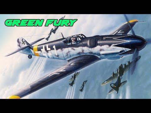 Fight of the week - Bf 109 F4 Vs P38J - War Thunder - Crash landing