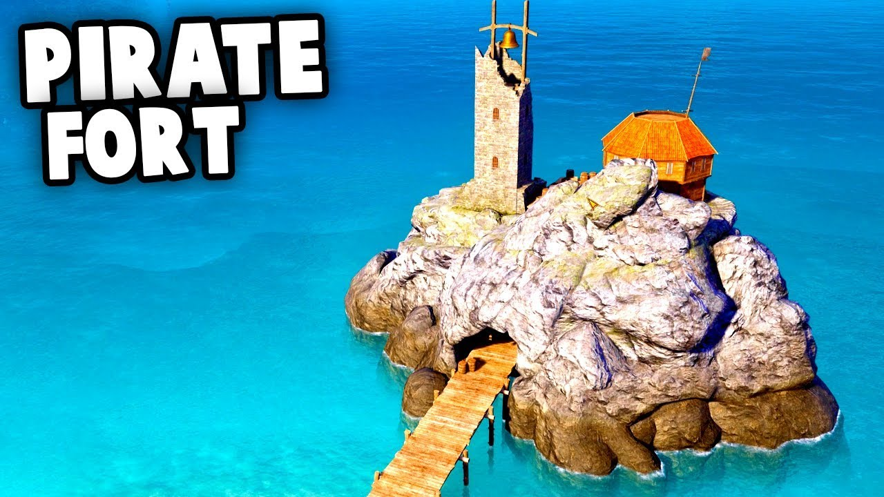 THE EPIC PIRATE FORT! (Tropico 6 Beta Gameplay Part 2)
