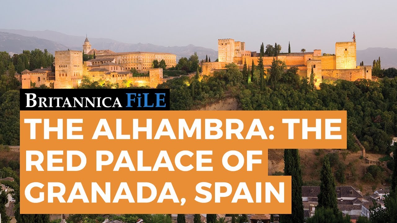 britannica file secrets of the alhambra spain s famous red palace