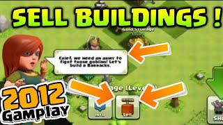 SELL BUILDING Gamplay IN Clash Of Clans | COC sell building GAMPLAY + REAL PROOF | #Quitable_Gamer