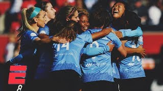 Sam Kerr's goal sends Chicago Red Stars to first NWSL Championship | NWSL Highlights