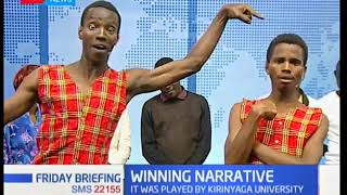 Winning Narrative: Played by Kirinyaga university