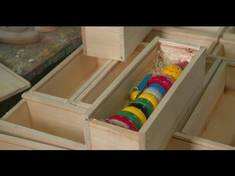 Tidløst leketøy i tre fra Marnardal