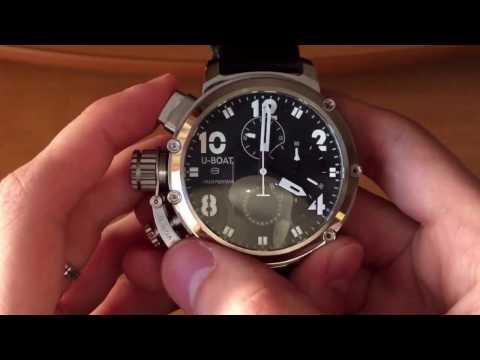 U-BOAT/Миллионерские часы/Обзор и приём заказов на часы