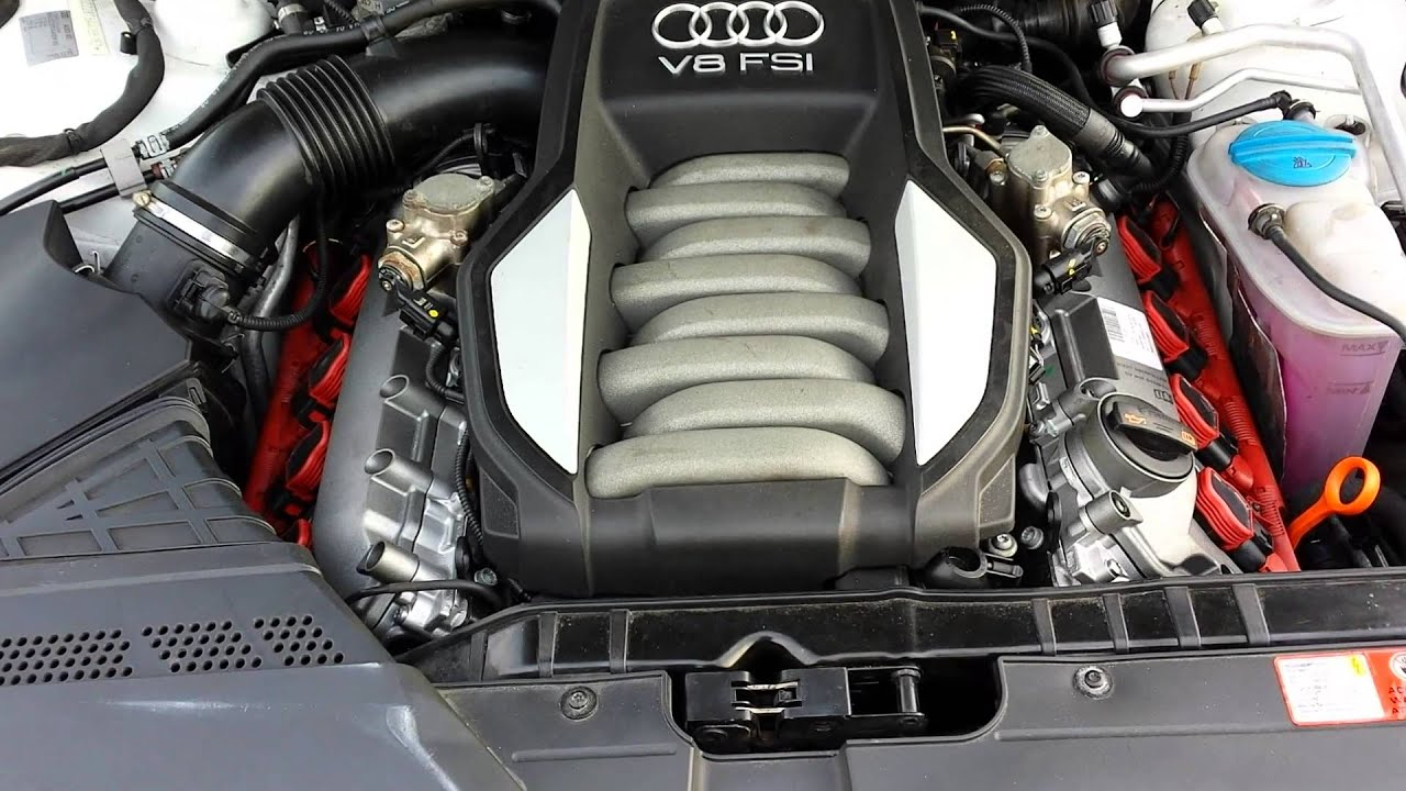 audi s5 4 2 v8 motor youtube. Black Bedroom Furniture Sets. Home Design Ideas