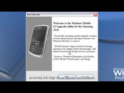 Como Actualizar A Windows Mobile 6.5