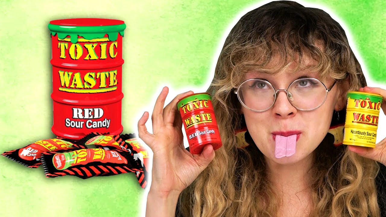 Irish People Try Toxic Waste Sour Candy