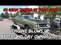 The '68 Ford Gran Torino GT - Engine DEAD Blew Up | Recap Video