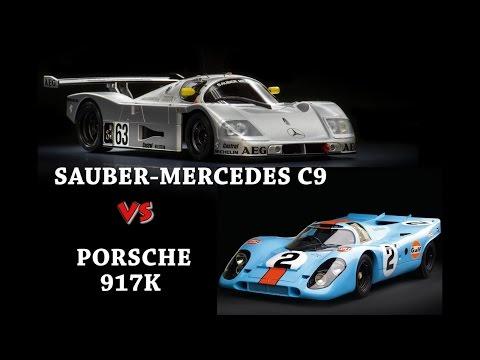 Assetto Corsa - Porsche 917k VS Sauber C9 #GreenHell