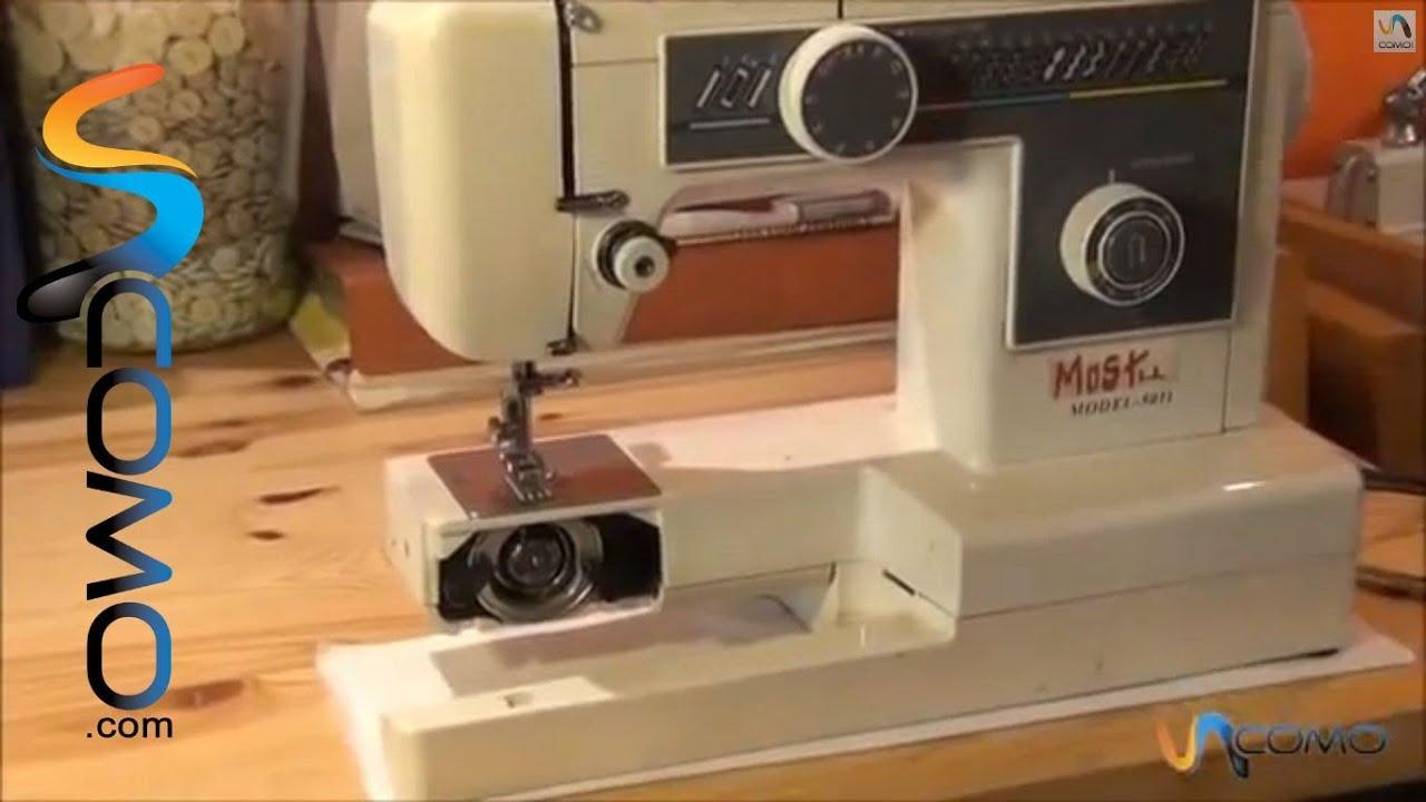 Enhebrar una máquina de coser - YouTube