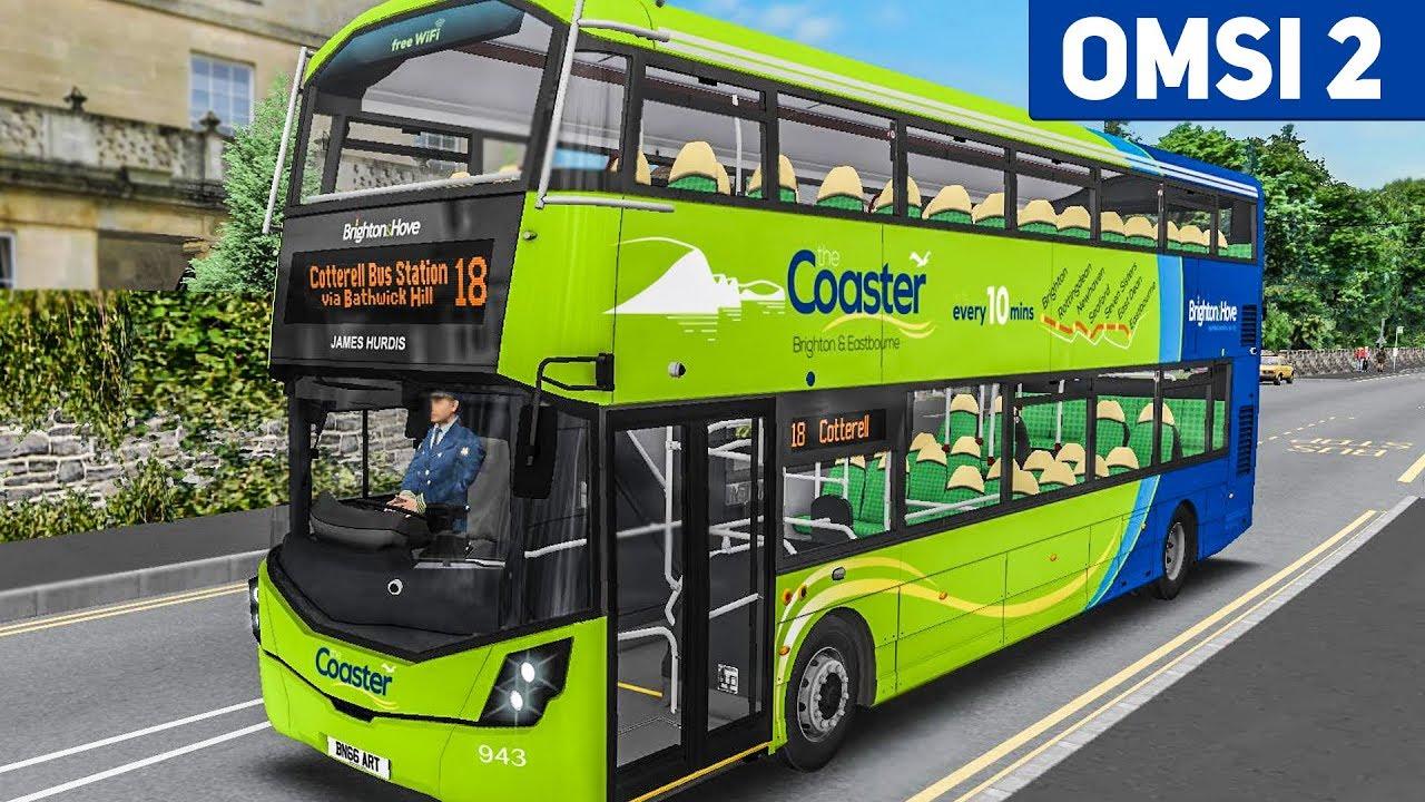 OMSI 2: Im Doppeldecker durch England! Masterbus Gen 3 Pack | BUS-SIMULATOR