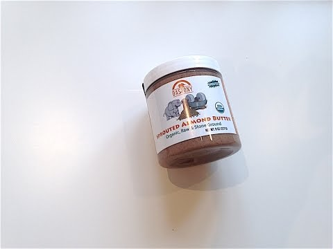 iHerb: Dastony, Organic Sprouted Almond Butter (Ореховая пас