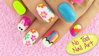 Diy Nail Art Without Any Tools Nail Art Designs