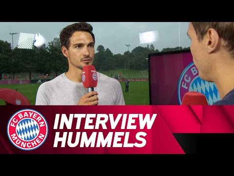 Mats Hummels' first interview with FCB.tv