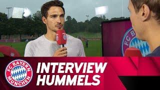 Mats Hummels' first interview with FCB.tv